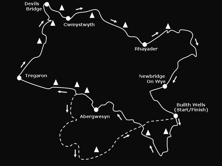 Devil Ride Route