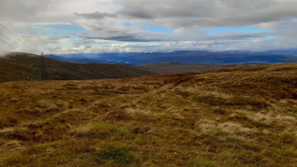 The top of Corrieyairack Pass