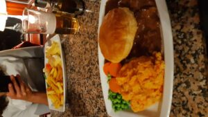 The Bothy pub dinner