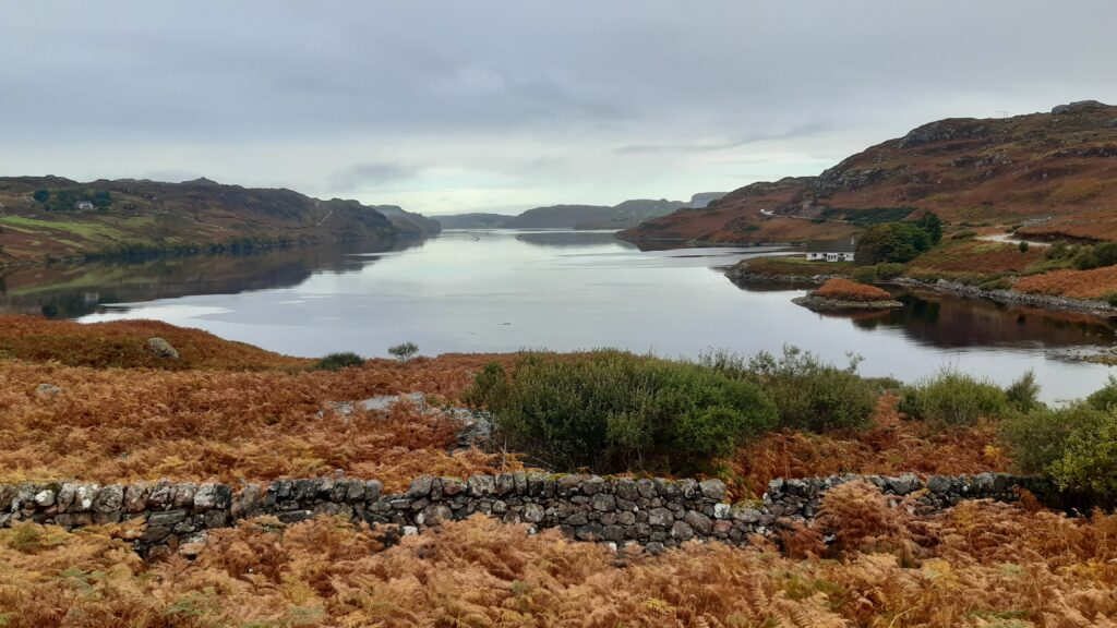 View of Loch Inchard from A838