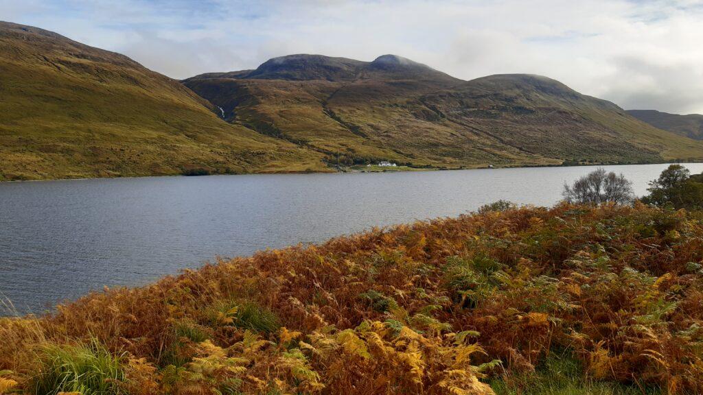 Loch More, looking at Aultanrynie
