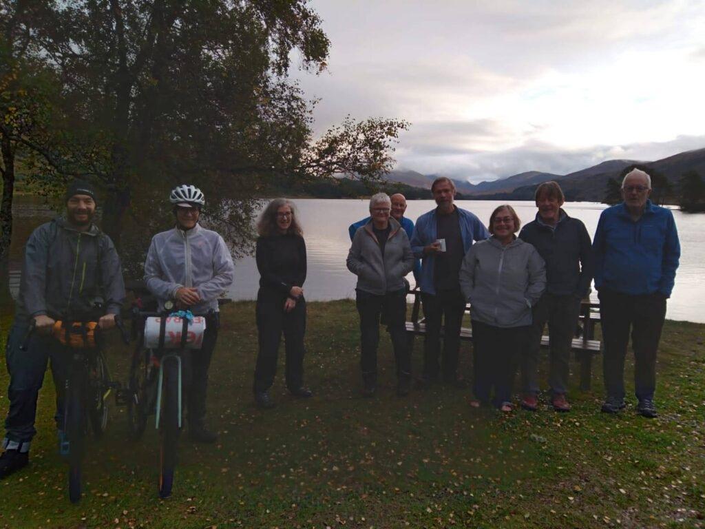The Loch Ossian YHA massive